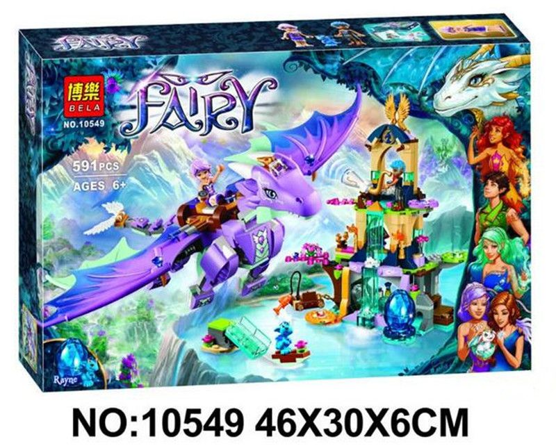 Конструктор Elves Bela Fairy 10549 «Логово Дракона», 591 дет.
